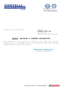 dichiarazione di residuo ENG 31082020